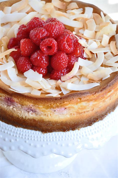 goat cheese cheesecake raspberry coconut goat cheese cheesecake recipe
