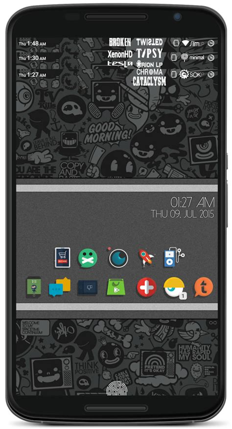 xenonhd themes rompack statusbar layers theme 1 0 apk download android