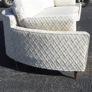 Vintage Curved Sofa Vintage Harvey Probber Style Curved Sofa For Sale At 1stdibs