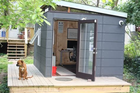 erin s modern shed home office fresh air