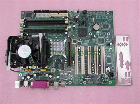 Ram Cpu Pentium 4 intel d865perl atx motherboard black pentium 4 p4 2