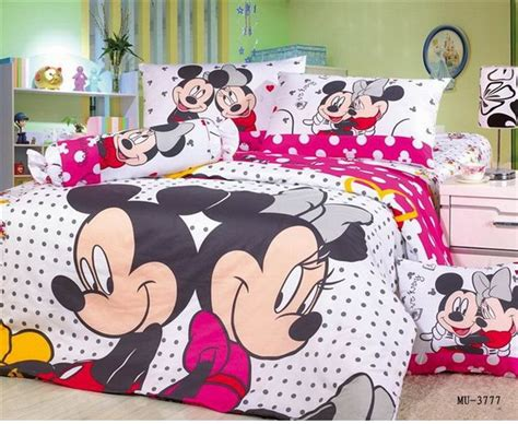 minnie and mickey bedroom fast shipping brand mickey and minnie bedding set queen