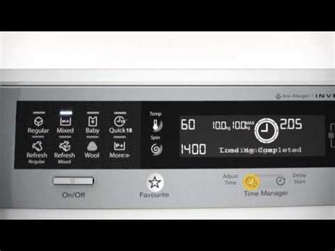 Mesin Cuci Electrolux Ewf10831 explaining the electrolux time manager function en doovi