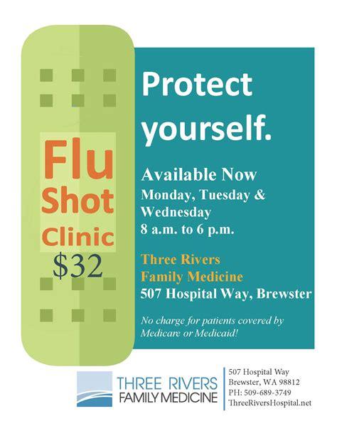 flu shots    rivers hospital