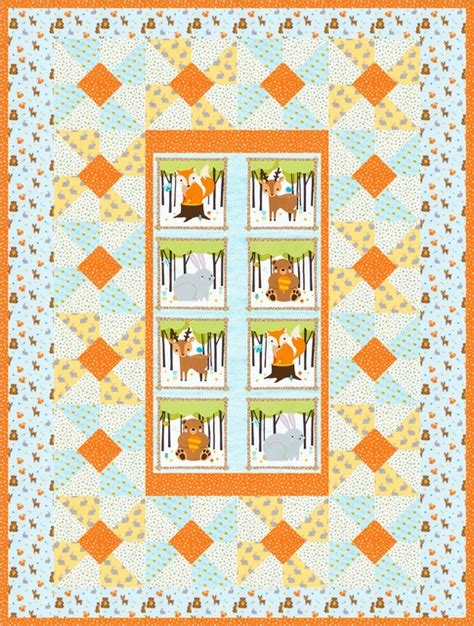 Into The Woods Quilt Pattern by Into The Woods Free Pattern Robert Kaufman Fabric Company