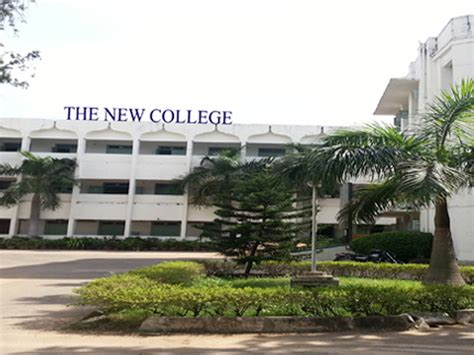 New College Chennai Mba by The New College Faculty Alumni Of The New College