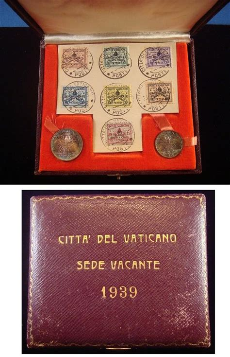coin sede jencius coins 1939 sede vacante coin set and sts