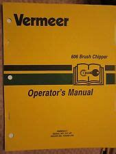 Asplundh Wood Brush Chipper Parts And Operating Manual Ebay