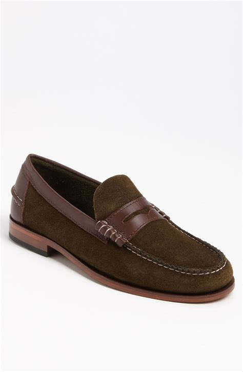 beefroll loafer florsheim berkley beefroll loafer in green for