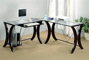 Glass Computer Desks For Home 10 Best Corner Computer Desk Table For Graphic Designers