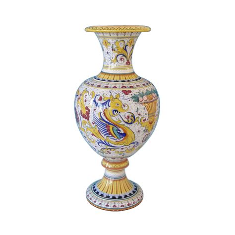 vaso etrusco vaso etrusco cm 78 senza ceramiche sambuco mario