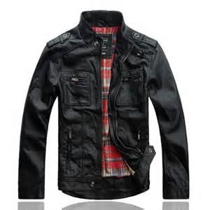 Leather Jacket For Sale Polyester Mens Black Leather Jacket Sale For Stylecaster