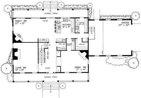 dutch colonial floor plans colonial house plans home design hw 2697 17637