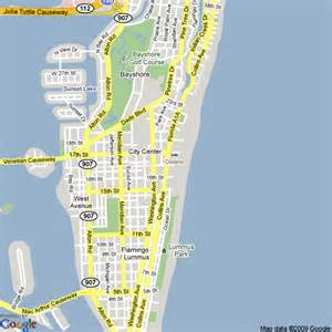 Map Of Miami Beach by Optimus 5 Search Image Miami Beach Map