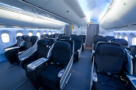 Japan Airlines Cabin by Japan Airlines To Take Delivery Of Their 787
