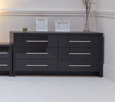 black and mirrored bedroom furniture homeofficedecoration black gloss mirrored bedroom furniture