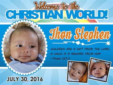 tarpaulin layout design for christening christening tarpaulin by aleksite on deviantart