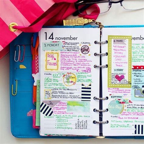Go Notes Image 2542774 By Saaabrina On Favim Com Cool Agenda