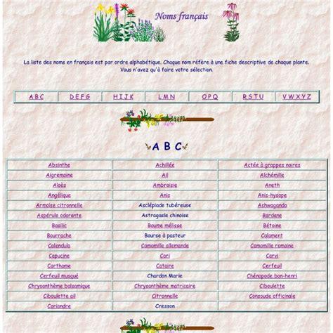 Herbes Aromatiques Cuisine Liste by Liste Descriptive En Fran 231 Ais De Noms D Herbes Aromatiques