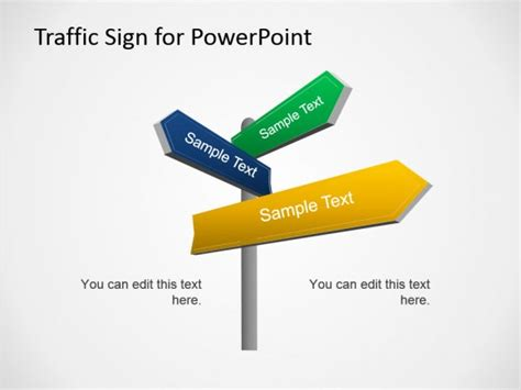0002 02 traffic signs fppt 1 free powerpoint templates
