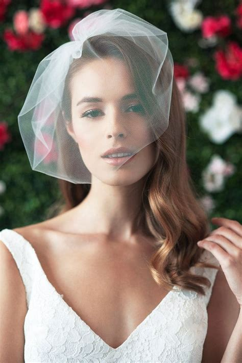 Wedding Hair Birdcage Veil by 25 Best Ideas About Birdcage Veils On