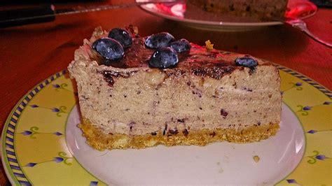 Heidelbeer Joghurt Kuchen Mit Keksboden Rezept Mit Bild
