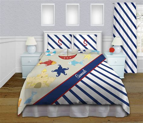 Nautical Themed Bedding by Nautical Themed Bedding Nautical Duvet By Eloquentinnovations