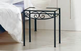 Light Wood Nightstand Fantastically Wrought Iron Bedroom Furniture