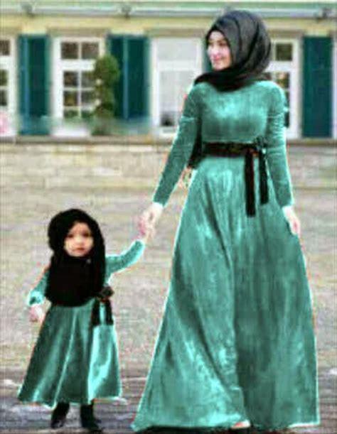 Model Baju Muslim Ibu Dan Anak Perempuan 17 baju muslim ibu dan anak terbaru