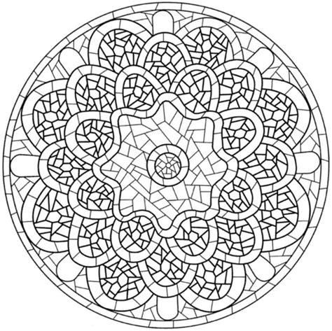 Mosaik Muster Vorlagen Drucken Ausmalbild Mandala Mit Mosaik Muster Ausmalbilder Kostenlos Zum Ausdrucken