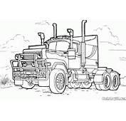 Disegni Da Colorare  Camion