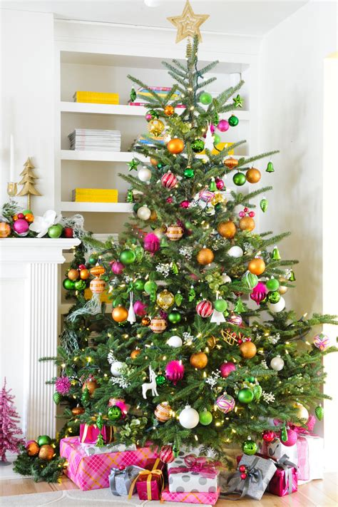 decorating a pink christmas tree pink and yellow home amazing decor flooring and accessories