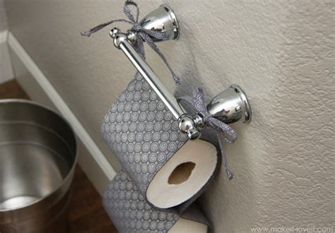 How To Make Toilet Paper Holder - toilet paper holder diy fabric tutorial step by step