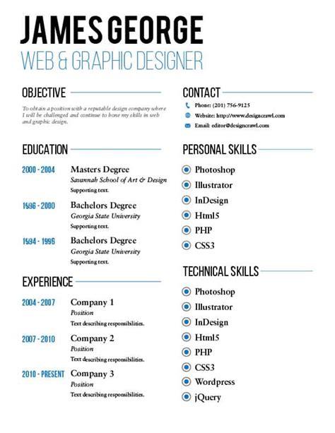 free resume template design free resume template design crawl