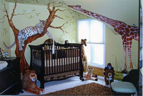 rainforest bedroom large animal wall stickers african themed bedroom ideas
