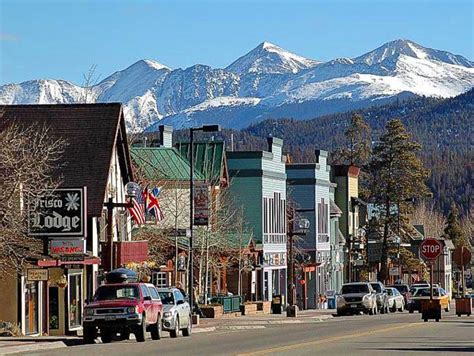Small Town Charm by Frisco Colorado