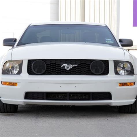 2005 mustang fog light kit mustang smoked fog light tint 05 12 gt lmr com