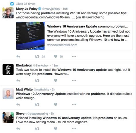 install windows 10 getting updates stuck windows 10 anniversary update getting stuck for some users