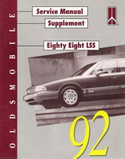 free online auto service manuals 1997 oldsmobile lss windshield wipe control free repair manual 1992 oldsmobile 88 1992 oldsmobile 98 repair manual download 1957
