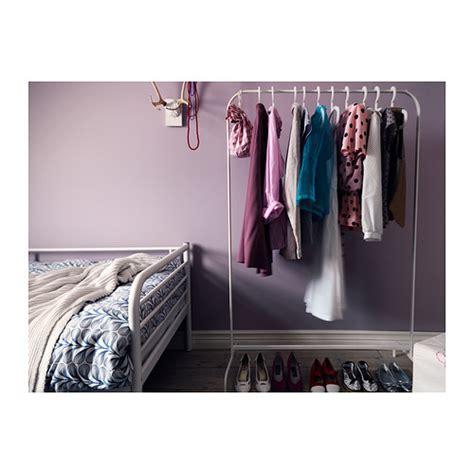 ikea wardrobe hanger mulig clothes rack white 99x46 cm ikea