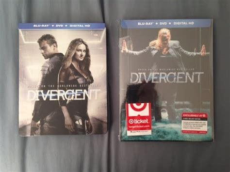 divergent best buy steelbook target exclusive unboxing
