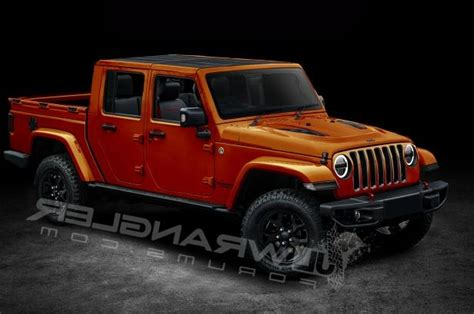 4 door jeep truck will the jeep wrangler look like this