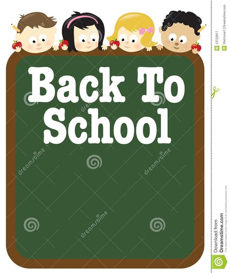 8 5x11 Back To School Flyer Template Stock Vector Illustration Of Chalkboard Editable 12722817 School Photo Templates Free
