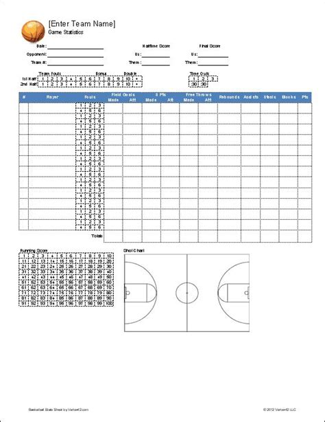 soccer stat sheet template soccer workout plans college https