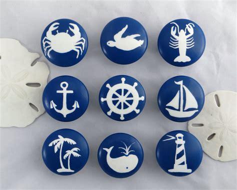Nautical Door Knobs by Nautical Drawer Knob Custom Drawer Knob Decor
