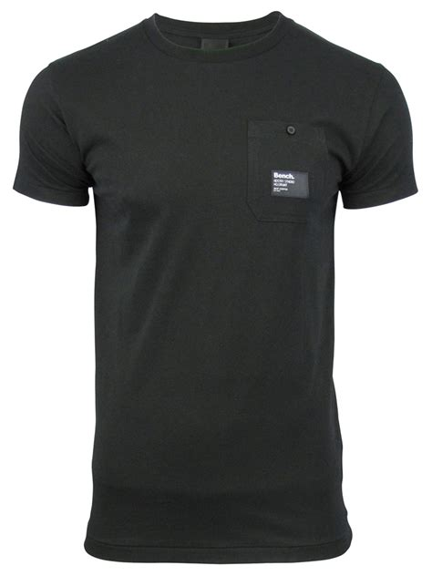 mens bench t shirts mens t shirt by bench juror short sleeved ebay