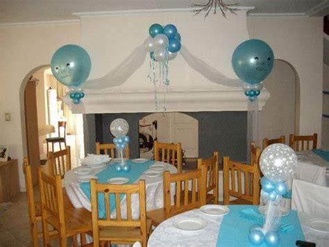 decoracion con globos para bautizo de ni 241 o nocturnar recuerdos para bautizo