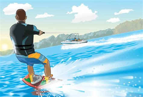 water skiing boat safety before towing a skier ri boat ed