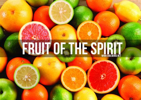 7 fruits of the spirit how can you display more of the fruit of the holy spirit