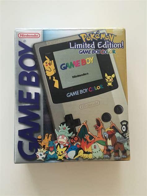 gameboy color pikachu edition limited edition nintendo boy gameboy color
